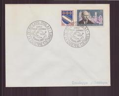 Enveloppe Du 11,12 Avril 1970, Cachet Commémoratif XI Exposition Philatélique à La Garenne-Colombes - Gedenkstempel