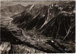 CHAMONIX (74) La Vallée De Chamonix Et Le Brévent - Vue Aérienne - Belle Carte - Chamonix-Mont-Blanc