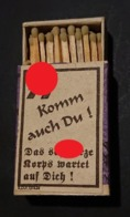 Boîte D'allumettes Allemande Corps Noir - Equipement