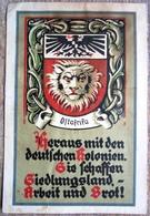 Zeitdokument Postkarte Heraus Mit Den Deutschen Kolonien ...... Ostafrika Gelaufen 1936 Bremen - Lettere