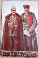 Zeitdokument Postkarte Deutschlands Stolz Wohlfahrtskarte Stempel Berlin 1915 - Lettere