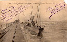 ANGLET - Bayonne - Navire échoué à L'entrée De La Barre - Ph&cie 190 - écrite - Coupure à 2h - Anglet