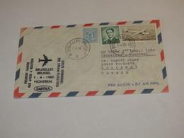 Belgium First Flight Cover 1960 - Unclassified
