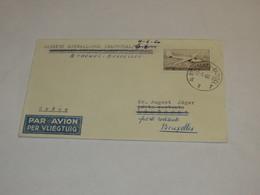 Belgium First Flight Cover 1960 - Belgium