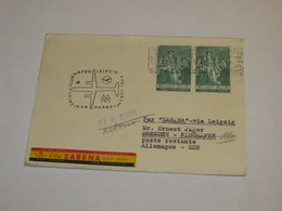 Belgium First Flight Cover 1959 - Unclassified