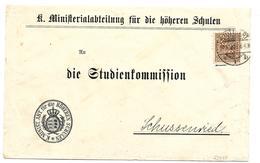 Württemberg XX002 / Dienstbrief Von Stuttgart Nach Schussenried - Wuerttemberg