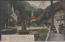 Ansichtskarte    Ravennaschlucht     2 Fotos Minimale   Gebrauchsspuren - Cartes Postales