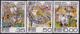 SRI LANKA 1983 SG #807//10 Part Set Used Only 5 R Missing Vesak - Sri Lanka (Ceylan) (1948-...)