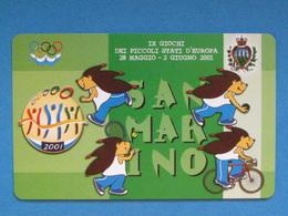 SAN MARINO C&C 7065 - GIOCHI PICCOLI STATI - NUOVA MINT - Saint-Marin