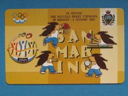 SAN MARINO C&C 7066 - GIOCHI PICCOLI STATI - NUOVA MINT - Saint-Marin