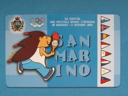 SAN MARINO C&C 7068 - GIOCHI PICCOLI STATI - NUOVA MINT - Saint-Marin