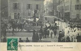 71 CHÄLON-SUR-SAÖNE . Carnaval 1911 , Carnaval V Aviateur - Chalon Sur Saone