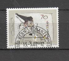 2002         N° 1051-1052  OBLITERES   JOUR D'EMISSION    CATALOGUE  ZUMSTEIN - Oblitérés