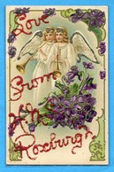 Anges Engeln Angels Love From Roxburgh Violets - Angeli