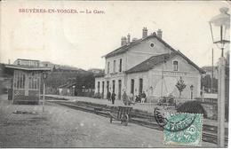 BRUYERES EN VOSGES La Gare - Bruyeres