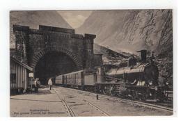 Gotthardbahn  Der Grosse Tunnel Bei Goeschenen - Other