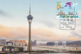 MACAO/MACAU 2019 Guangdong HK Macau Greater Bay Area MS MC - 1999-... Chinese Admnistrative Region