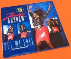 Vinyle Maxi 45 Tours Jaki Graham  See Me Free (1986) - 45 T - Maxi-Single
