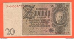 20 Reichsmark 1929 Germania Germany Deutschland Mark - [ 3] 1918-1933 : Weimar Republic
