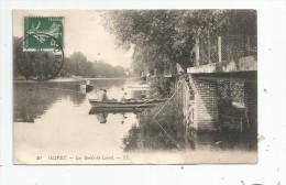 Cp , 45 , OLIVET , Les Bords Du LOIRET , Barques , Pêche , Pêcheurs , Voyagée - Autres Communes