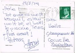 35893. Postal MAHON (Menorca) Baleares 1979. Rodillo Festival MUSICA Clasica - 1931-Hoy: 2ª República - ... Juan Carlos I