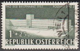 1957: Österreich Mi.Nr. 1039 Gest. (d370) / Autriche Y&T No. 875 Obl. - 1945-.... 2. Republik