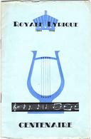 Royale Lyrique  De Fontaine-L'Evêque - Vieux Papiers