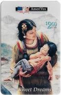 USA - AmeriVox - Perillo Native American Artwork - AVX-Pr153 - Sweet Dreams #4, Remote Mem. 2.50$, 5.000ex, Mint - Stati Uniti