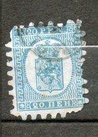 FINLANDE 20p Bleu 1866-76 N°8 - 1856-1917 Administration Russe