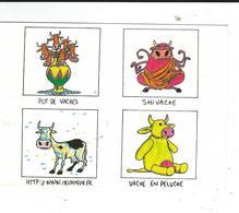 Droles De Vaches  4 Dessins Michel Cambon Neuve TBE - Humor