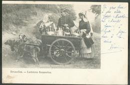 CP De BRUXELLES - Laitières Flamandes  - W0520 - Petits Métiers