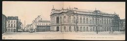 ANTWERPEN - LE THEATRE FLAMAND CONSTRUIT 1869 - 1872  PANORAMISCHE KAART - Antwerpen