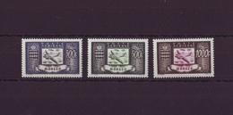 MONACO 1949 - Série Poste Aérienne 42/44 Neufs ** - Posta Aerea