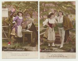 Lot De 2 Cartes - Les Cloches De Corneville - Editeur Dix Paris - Opera