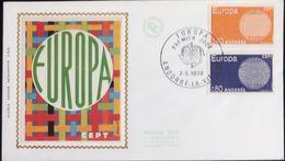 Andorra French 1970 Cept Issue FDC 2002.2613 - Andorre Français