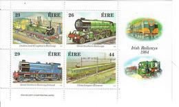 IRLANDA 1984 - TRENI  - FGL - MNH** - 1949-... Republic Of Ireland
