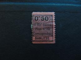 Colis Postaux De Paris Pour Paris N°. 10 - Mint/Hinged