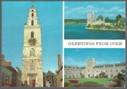 PC  195 Cardall - Greetings From Cork City,Ireland. Unused - Cork