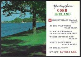 PC  194 Cardall - Greetings From Cork ,Ireland. Unused - Cork