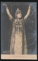 SOPRAAN  SYBIL SANDERSON  PHOTO CARD - Music And Musicians