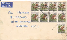 New Zealand Cover Sent To Denmark Masterton 17-4-1963 - New Zealand