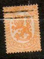 FINLANDE  20p Jaune Orange 1918-21 N°70 - Oblitérés