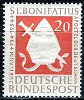 BRD - Mi 198 - ** Postfrisch (A) - 20Pf         Hl. Bonifatius - BRD