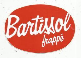 Autocollant , Alcool ,  BARTISSOL Frappé - Stickers