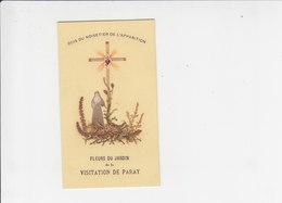 Devotie - Devotion - Fleurs Du Jardin De La Visitation De Paray - Images Religieuses