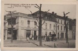 08 GIVET  Hôtel De La Gare - Givet