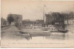 80 HAM Ecluse Et Pont De La Rue De Chauny - Ham