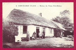 CPA Fort Mahon - Maison Du Vieux Fort Mahon - Fort Mahon