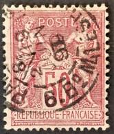 FRANCE 1890 - Canceled - YT 98 - 50c - 1876-1898 Sage (Type II)