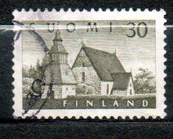 FINLANDE  Eglise De Lammi 1956 N° 437 - Oblitérés